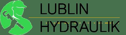 Ciemne logo hydraulika z Lublina